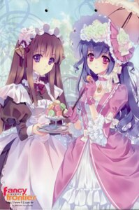 Rating: Safe Score: 54 Tags: carnelian dress fairy_factory maid seika touka_(fairy_factory) User: peoplo