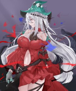 Rating: Safe Score: 14 Tags: dress garter kaminarichyan skirt_lift tentacles weapon witch User: Mr_GT