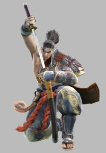 Rating: Safe Score: 4 Tags: armor heishirou_mitsurugi japanese_clothes male namco samurai soul_calibur soul_calibur_iv sword weapon User: Yokaiou