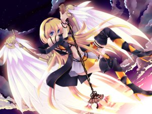 Rating: Safe Score: 34 Tags: child-box lily_(vocaloid) vocaloid wings User: fairyren