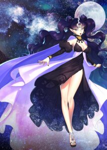Rating: Safe Score: 14 Tags: cleavage dress jinial nehellenia pointy_ears sailor_moon User: Mr_GT