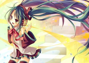 Rating: Safe Score: 16 Tags: amene_kurumi hatsune_miku vocaloid User: fireattack