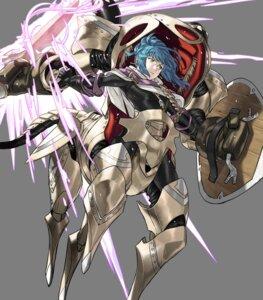 Rating: Safe Score: 3 Tags: armor cleavage duplicate fire_emblem fire_emblem_heroes kozaki_yuusuke mecha_musume monster_girl nintendo reginn sword tagme User: Radioactive
