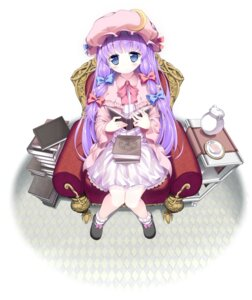 Rating: Safe Score: 37 Tags: patchouli_knowledge pikazo touhou User: fairyren