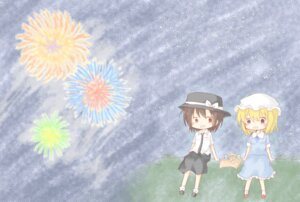 Rating: Safe Score: 6 Tags: maribel_han tagme touhou usami_renko User: Minacle