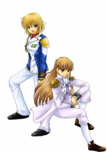 Rating: Safe Score: 5 Tags: cagalli_yula_athha gundam gundam_seed gundam_wing relena_peacecraft tagme uniform User: Radioactive