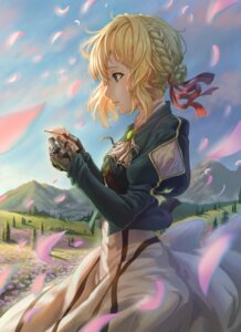 Rating: Safe Score: 22 Tags: dress ho-oh_(artist) mecha_musume violet_evergarden violet_evergarden_(character) User: Mr_GT