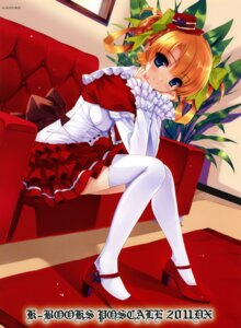 Rating: Safe Score: 148 Tags: dress gothic_lolita k-books kuroya_shinobu lolita_fashion thighhighs User: WtfCakes