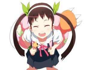 Rating: Safe Score: 36 Tags: bakemonogatari hachikuji_mayoi nisemonogatari ogipote User: shinkuu