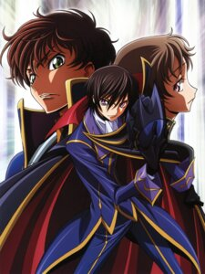 Rating: Safe Score: 14 Tags: code_geass ishida_kana kururugi_suzaku lelouch_lamperouge male rollo_lamperouge User: Aurelia
