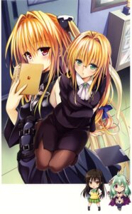 Rating: Questionable Score: 29 Tags: golden_darkness kotegawa_yui megane pantyhose run_elsie_jewelria tearju_lunatique to_love_ru to_love_ru_darkness yabuki_kentarou User: fireattack