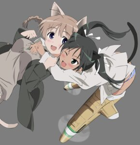 Rating: Safe Score: 15 Tags: francesca_lucchini lynette_bishop strike_witches transparent_png vector_trace User: gohanrice