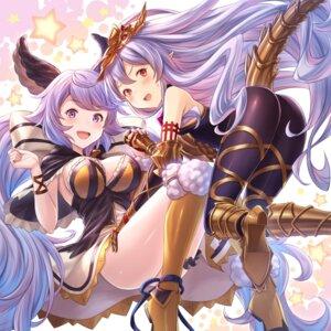 Rating: Safe Score: 51 Tags: animal_ears armor ass granblue_fantasy medusa_(shingeki_no_bahamut) pointy_ears satyros_(granblue_fantasy) tail tomo_(user_hes4085) User: Mr_GT