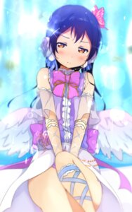 Rating: Safe Score: 41 Tags: love_live! sakura_fuumi see_through sonoda_umi wings User: nphuongsun93