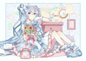 Rating: Safe Score: 37 Tags: dress gocoli hatsune_miku vocaloid User: Mr_GT