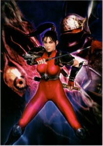 Rating: Questionable Score: 4 Tags: bodysuit cg erect_nipples ninja soul_calibur taki weapon User: Radioactive