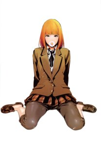 Rating: Safe Score: 22 Tags: hiramoto_akira midorikawa_hana prison_school seifuku User: Radioactive