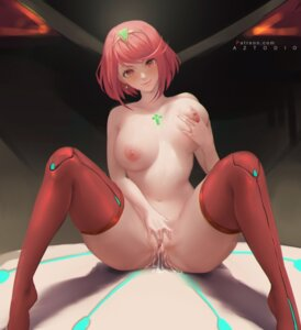 Rating: Explicit Score: 72 Tags: azto_dio breast_grab homura_(xenoblade_2) masturbation naked nipples pussy pussy_juice thighhighs xenoblade xenoblade_chronicles_2 User: hiroimo2