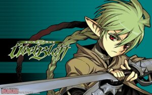 Rating: Questionable Score: 6 Tags: armor pointy_ears shiono_etorouji sword wallpaper User: Korino
