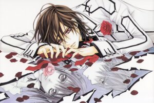 Rating: Safe Score: 4 Tags: cross_yuuki hino_matsuri kiryuu_zero kuran_kaname vampire_knight User: Radioactive