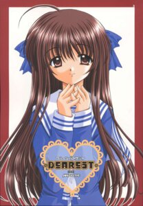 Rating: Safe Score: 5 Tags: fruits_basket honda_tohru nishimata_aoi seifuku User: Davison