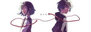 Rating: Safe Score: 24 Tags: kimi_no_na_wa miyamizu_mitsuha seifuku tachibana_taki User: hrbzz