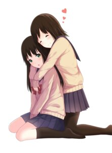 Rating: Safe Score: 34 Tags: itachi_kanade pantyhose seifuku yuri User: Hentar