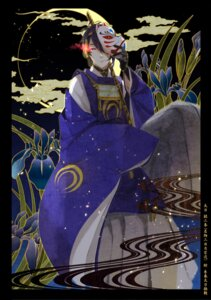 Rating: Safe Score: 7 Tags: asian_clothes male mikazuki_munechika rubill sword touken_ranbu User: charunetra
