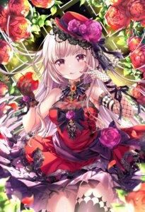 Rating: Safe Score: 54 Tags: dress emori_miku_project fishnets gothic_lolita lolita_fashion momo_moyon thighhighs User: fairyren