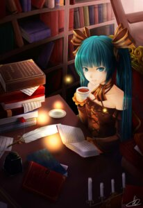 Rating: Safe Score: 30 Tags: dress hatsune_miku jpeg_artifacts liuli vocaloid User: shizukane