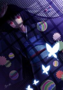 Rating: Safe Score: 33 Tags: enma_ai jigoku_shoujo kimono minazuki_ryou User: charunetra