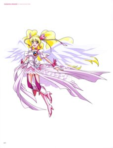 Rating: Safe Score: 3 Tags: dress fresh_pretty_cure! heels pretty_cure stockings thighhighs wings User: drop