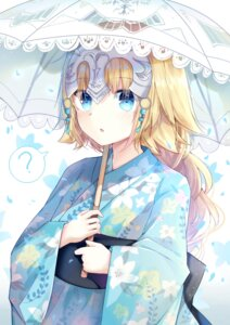 Rating: Safe Score: 49 Tags: fate/apocrypha fate/stay_night jeanne_d'arc jeanne_d'arc_(fate) kimono tagme umbrella User: Mr_GT