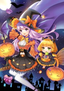 Rating: Safe Score: 18 Tags: animal_ears chibi halloween heels pantyhose witch xingxiang_senlin User: Mr_GT