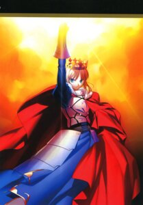 Rating: Safe Score: 18 Tags: fate/stay_night saber takeuchi_takashi type-moon User: fireattack