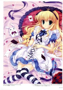Rating: Safe Score: 52 Tags: alice alice_in_wonderland dress mitha thighhighs User: YamatoBomber