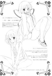 Rating: Safe Score: 4 Tags: mario_kaneda monochrome nikka pantsu seifuku thighhighs User: noirblack
