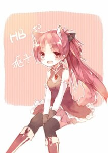 Rating: Safe Score: 8 Tags: animal_ears fongjlf nekomimi puella_magi_madoka_magica sakura_kyouko thighhighs User: Radioactive
