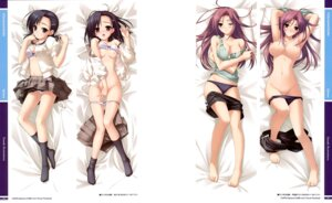 Rating: Questionable Score: 60 Tags: bra breasts cleavage dakimakura hashimoto_takashi ifukube_yahiro kuranaga_kozue nipples open_shirt pantsu panty_pull seifuku sphere suzuhira_hiro topless yosuga_no_sora User: Hatsukoi