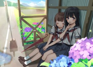 Rating: Safe Score: 30 Tags: hanabana_tsubomi seifuku User: fairyren