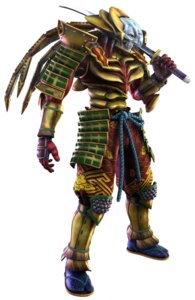 Rating: Safe Score: 5 Tags: armor japanese_clothes male samurai soul_calibur sword tekken weapon yoshimitsu User: Yokaiou