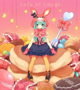 Rating: Safe Score: 11 Tags: ech hatsune_miku lolita_fashion lots_of_laugh_(vocaloid) vocaloid User: Nekotsúh