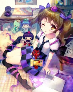 Rating: Safe Score: 31 Tags: amo cleavage himekaidou_hatate kawashiro_nitori shameimaru_aya thighhighs touhou User: blooregardo