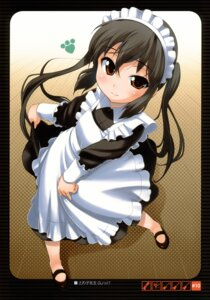 Rating: Safe Score: 17 Tags: bakutendou bakutendou_(circle) k-on! maid nakano_azusa User: Chrissues