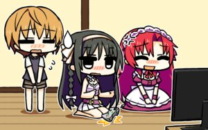 Rating: Safe Score: 11 Tags: chan×co chibi irotoridori_no_sekai kisaragi_mio maid minami_kana_(irotoridori_no_sekai) User: Radioactive