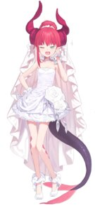 Rating: Safe Score: 72 Tags: cleavage doremi dress elizabeth_bathory fate/extra fate/extra_ccc fate/grand_order fate/stay_night heels horns pointy_ears tail wedding_dress User: yanis