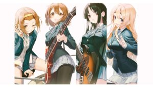 Rating: Safe Score: 25 Tags: akiyama_mio guitar hirasawa_yui k-on! kotobuki_tsumugi pantyhose pro-p seifuku tainaka_ritsu User: Dreista