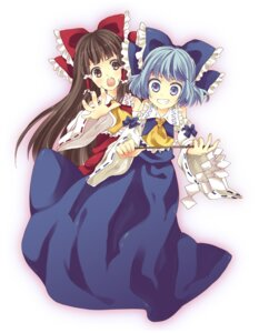 Rating: Safe Score: 6 Tags: cirno hakurei_reimu maki_(makimaki) touhou User: Radioactive