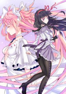 Rating: Safe Score: 21 Tags: akemi_homura ass cleavage heels nanatsu no_bra pantyhose puella_magi_madoka_magica ultimate_madoka User: Mr_GT