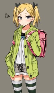 Rating: Questionable Score: 56 Tags: asanagi shirobako thighhighs yano_erika User: ferkunxd